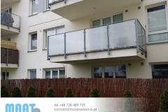 oklejanie balkonów
