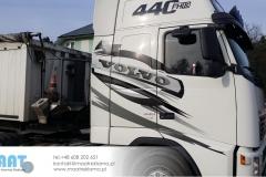 oklejanie ziężarówek